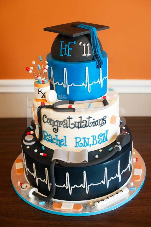 Images Of Nursing Graduation Cakes