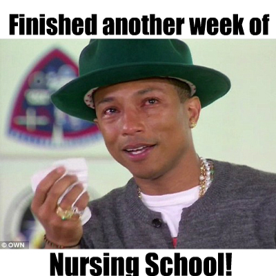 Finished another week of nursing school